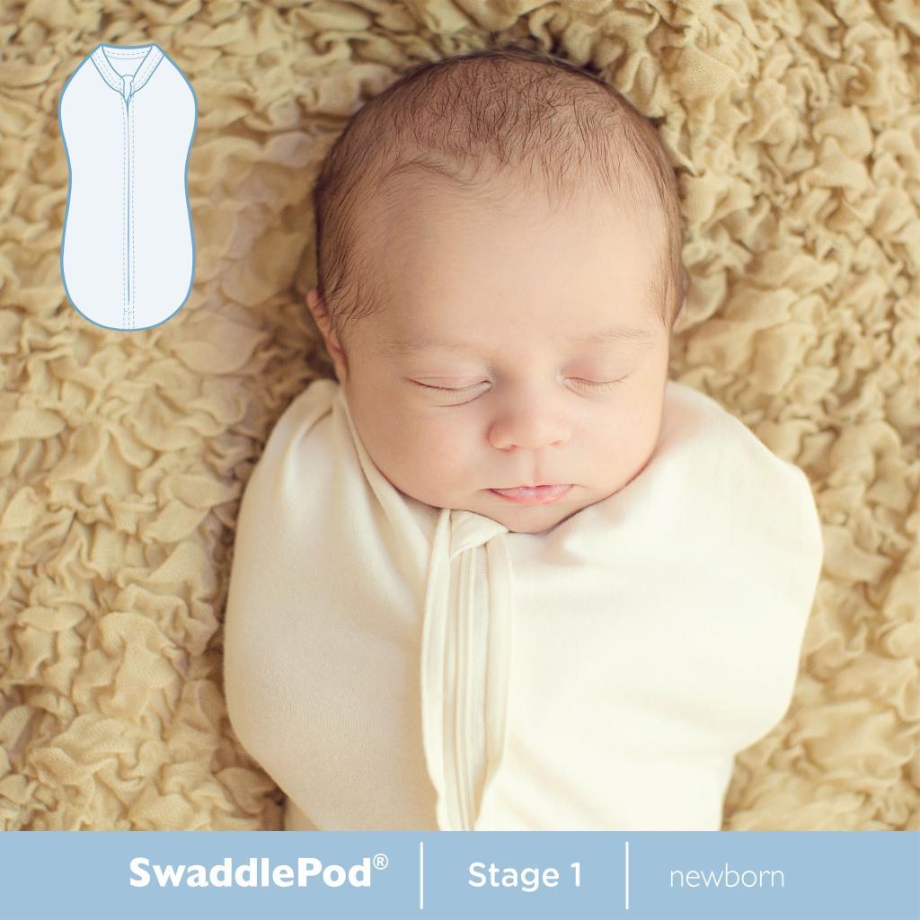 Amazon Com Summer Infant Swaddlepod Ivory Newborn Baby