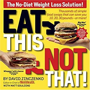 "Cover of ""Eat This, Not That! Thousands o..."