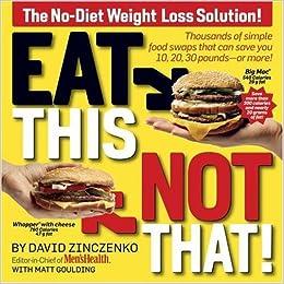 Zero Belly Diet by David Zinczenko (2014): Food list