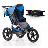 BOB Sport Utility Stroller with Fixed Wheel and Handlebar Console