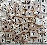 Bargains Online Scrabble Buchstabensteine aus Holz, 200Stück hergestellt von Bargains Online