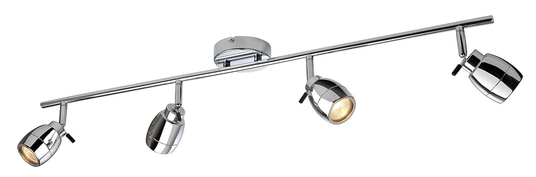 Firstlight 9504CH Marine Lichtleiste GU10 IP44 4 x 240 V/ 35 Watt verchromt