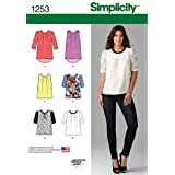 American 1253 American Sewing Guild Women's Blouse Sewing Pattern, Sizes 4-12 (Tamaño: D5 (4-6-8-10-12))