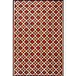 Scotch Mat Color: Cranberry, Rug Size: Runner 2\'5\