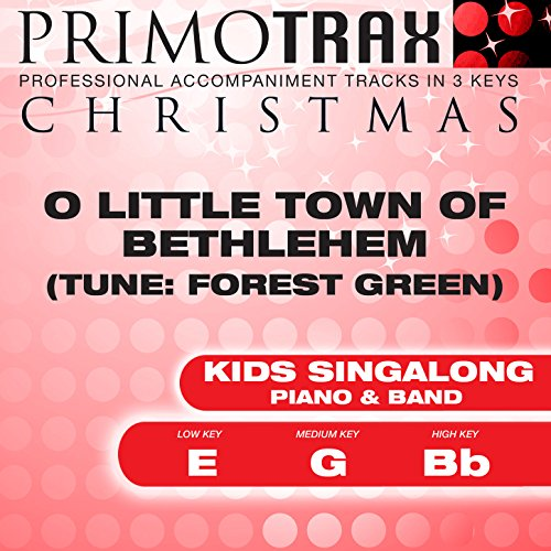 O Little Town of Bethlehem - Kids Christmas Primotrax - Performance Tracks - EP