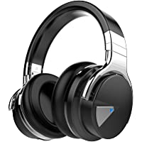 Cowin E-7 Over-Ear Wireless Bluetooth Headphones with Carrying Case (Black)