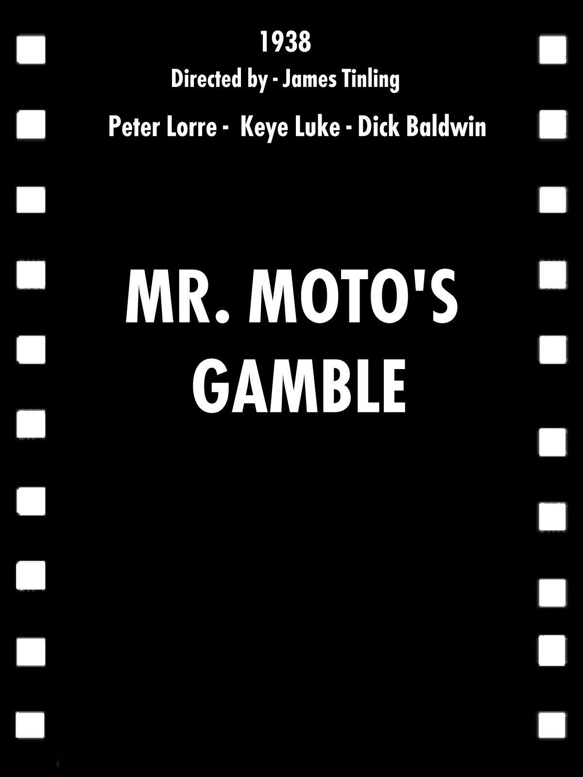 Mr. Moto's Gamble on Amazon Prime Instant Video UK