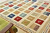 ギャベ ラグ ギャッベ 絨毯 19452 ウィルトン織 ラグ 3畳 200x250cm