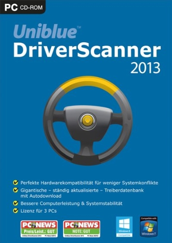 Brand NEW System optimization software Uniblue DriverScanner 2012 2013