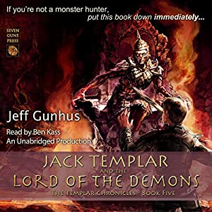 Jack Templar and the Lord of the Demons Audiobook
