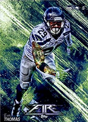 2014 Topps FIRE Football Card #85 Earl Thomas - Seattle Seahawks MINT