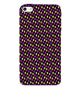 Florocent Dots 3D Hard Polycarbonate Designer Back Case Cover for Apple iPhone 5