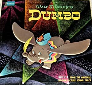 walt disney - walt disney's dumbo-vintage soundtrack LP ...