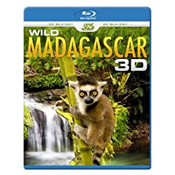 WILD MADAGASCAR 3D (Blu-ray 3D & 2D Version) REGION FREE