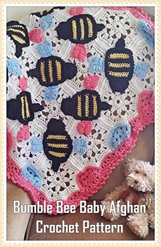 Bumble Bee Baby Afghan Crochet Pattern