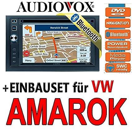 Audiovox vXE volkswagen amarok - 6020 nAV navigationsradio uE autoradio navi dVD avec écran tFT bluetooth