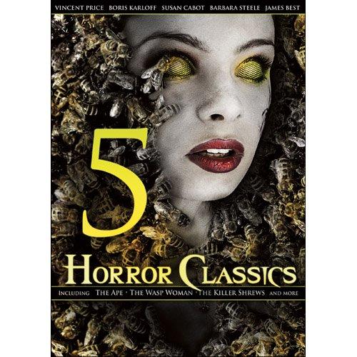 5 Horror Classics (Full Frame, Widescreen)