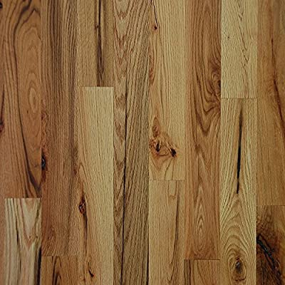 "4"" x 3/4"" Red Oak #3 Common Unfinished Solid Wood Flooring Samples at Discount Prices by Hurst Hardwoods"