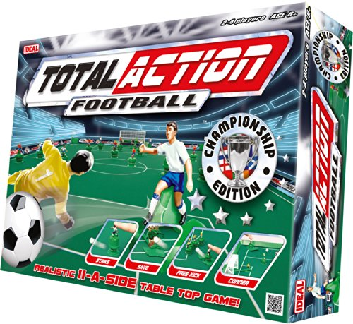 Toy Brokers 9360 Total Action Football – Juego de fútbol de mesa (71 x 95 cm, en inglés)