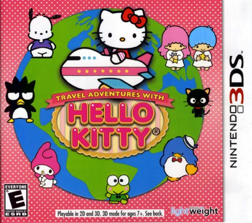 Travel Adventures with Hello Kitty 3DS - Nintendo 3DS - 1
