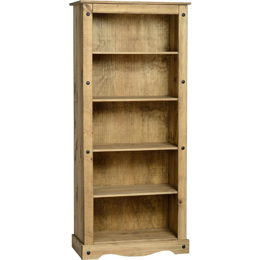 Core Products Corona Mexican Pine Open Bookcase       review