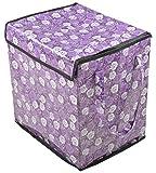 Azaan Decor Polyester Foldable Laundry Basket (33 cm x 45 cm x 40 cm, AD_512)