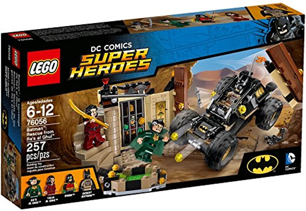 [해외] 레고 (LEGO) 슈퍼히어로즈 배트맨:라스 알 굴부터의 구출 76056-76056 (2016-06-03)
