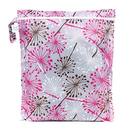 Bumkins Laundry Bag, Purple Dandelion (Bumkins Wet compare prices)