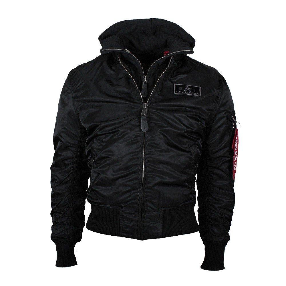 Alpha Industries Herren Winterjacke MA-1 D-tec Bomber Jacket schwarz schwarz XXL jetzt kaufen