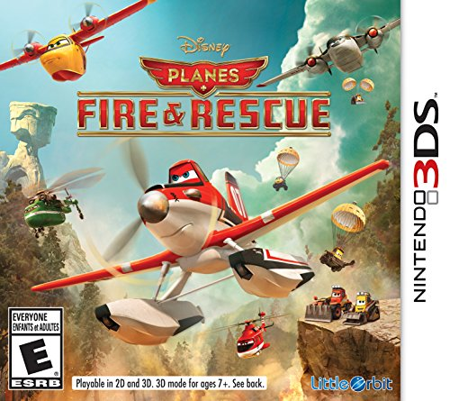 Disney Planes Fire & Rescue - Nintendo 3DS - 1
