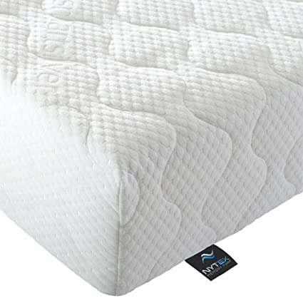 Nytex King Size Mattress 5ft, Memory Foam, SmartSilver Cover, Made in the UK