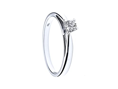 Diamond & You Women 925 Sterling Silver Silver Diamond Rings