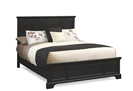 Home Styles 5531-600 Bedford Bed Frame, King, Black