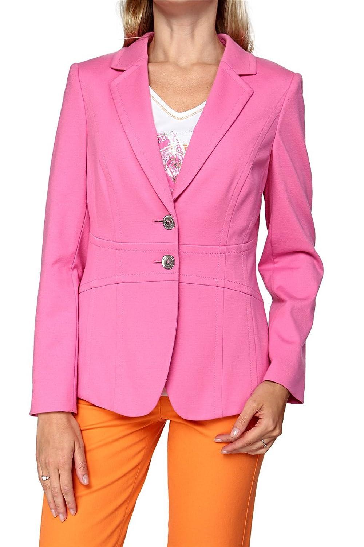 Basler Damen Blazer PINK ZEBRA WB, Farbe: Rosa günstig kaufen