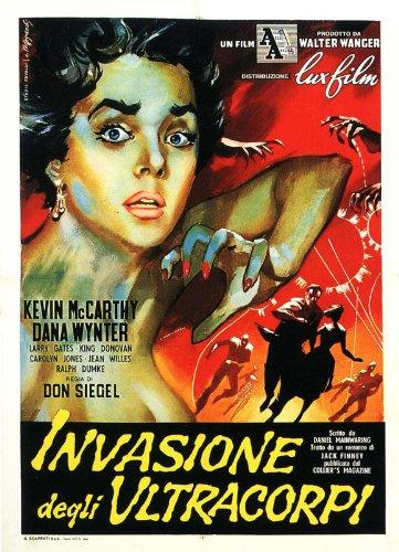Body Snatchers Invasion of The Movie-Poster In spagnolo 11 17 x 28 cm x 44 cm, motivo Kevin McCarthy Dana Wynter Carolyn Jones King Larry Gates Jean Willes Donovan