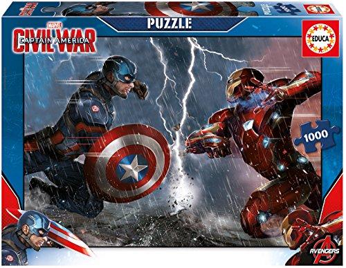 Educa 16703 - Puzzle 1000 Captain America: Civil War