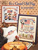 img - for It's a grand old flag in cross stitch book / textbook / text book