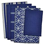 DII 100% Cotton, Ultra Absorbent, Oversized, Washing, Drying, Basic Everyday Kitchen Dishtowel 18 x 28