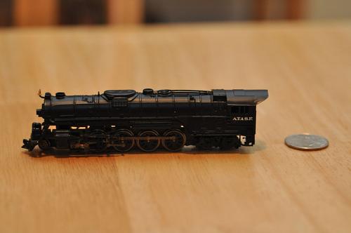 Bachmann Trains Empire Builder Ready - To - Run N Scale Train Set