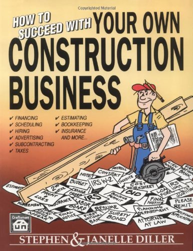 How to Succeed in your own Construction Business - Craftsman Book Co - CR207 - ISBN: 0934041598 - ISBN-13: 9780934041591