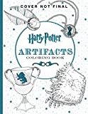 img - for Harry Potter Artifacts Coloring Book book / textbook / text book