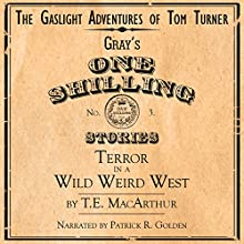 Terror in a Wild Weird West: The Gaslight Adventures of Tom Turner, Book 3 (       UNABRIDGED) by T. E. MacArthur Narrated by Patrick R. Golden