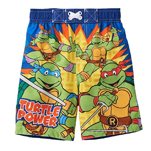 "Teenage Mutant Ninja Turtles ""Turtle Power"" Little Boys' Swim Trunks"