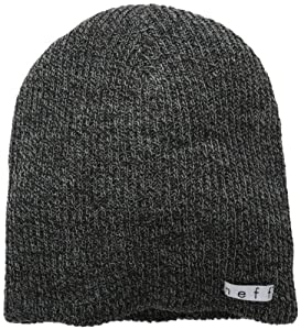 neff Men's Daily Heather, Black/Grey, One Size