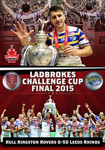 2015 Ladbrokes Challenge Cup Final (Collector's Edition) Hull KR v Leeds Rhinos [DVD]