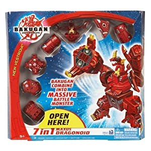 Bakugan 7 in 1 Maxus Drago