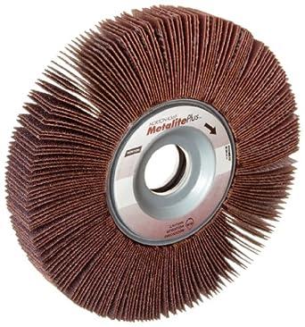 """Norton Metalite Plus R369 Abrasive Flap Wheel, 1"""" Arbor, Ceramic Aluminum Oxide"""