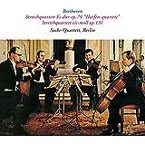 ベートーヴェン:弦楽四重奏曲第10番「ハープ」、第14番