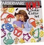 Farberware 100 Piece Cookie Cutter Set