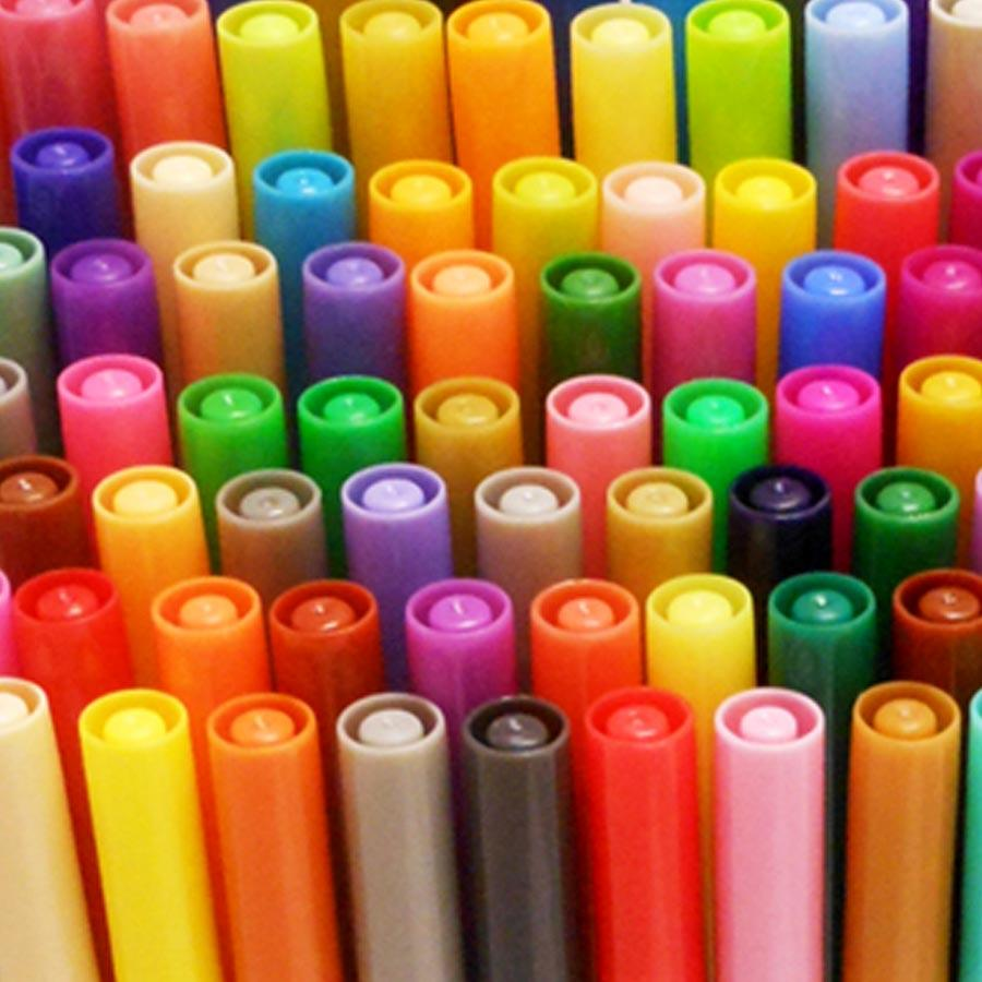 Roseart Supertip Assorted Color Washable Markers 100 Pack Ebay